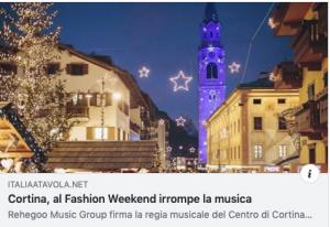ITALIA A TAVOLA CON IL FASHION WEEKEND 2019