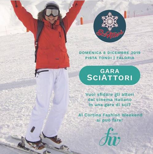 La gara di sci a scopo benefico SciAttori sarà sulla Pista Tondi in Faloria!