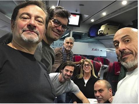 In arrivo con Italo Treno un treno di attori per il Cortina Fashion Weekend 2019!