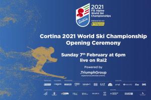 La Cerimonia d'apertura dei Mondiali: un omaggio alle Dolomiti, al Veneto e all'Italia che sarà trasmesso in diretta domenica 7 febbraio 18:00 su Rai2.