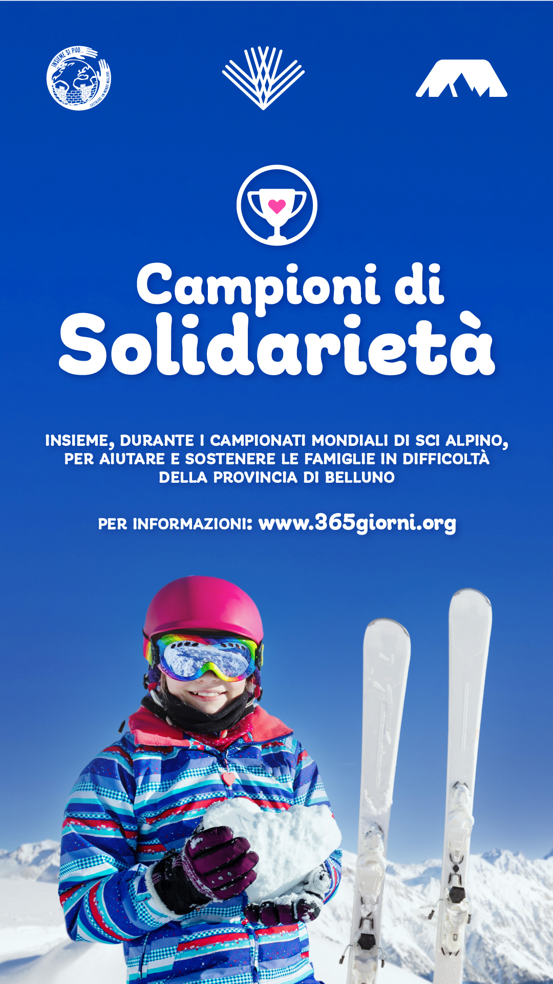 campioni di solidarietà Cortina For uS 2021