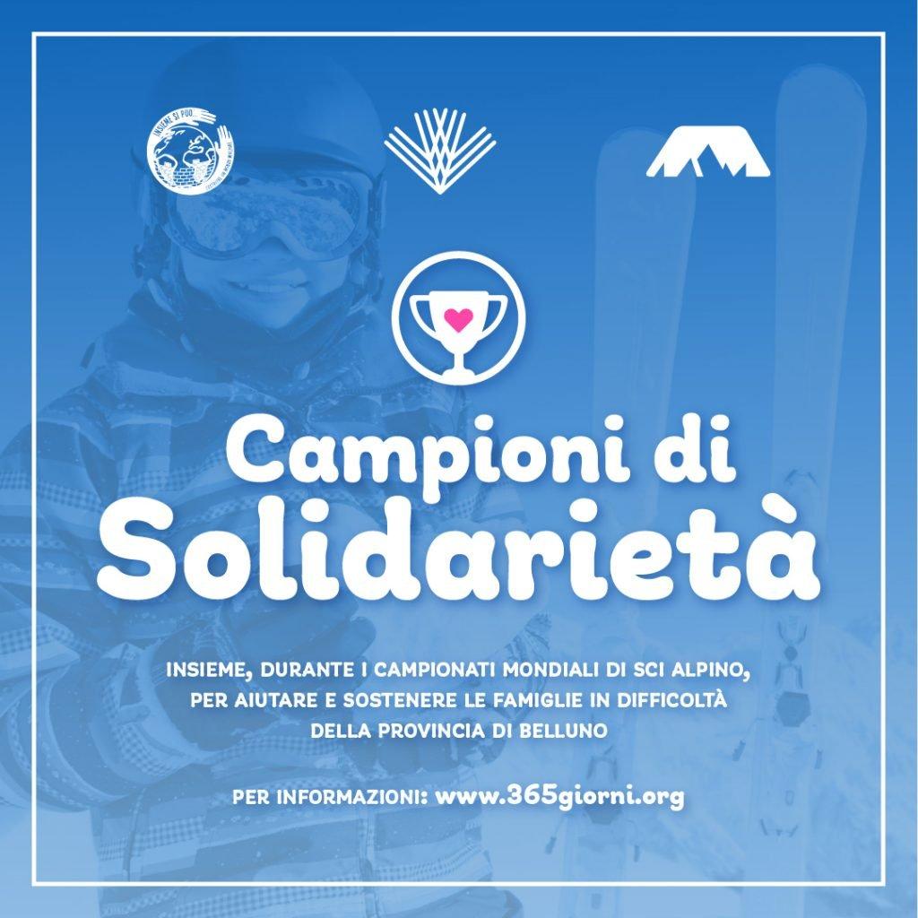 campioni di solidarietà Cortina For uS 2021