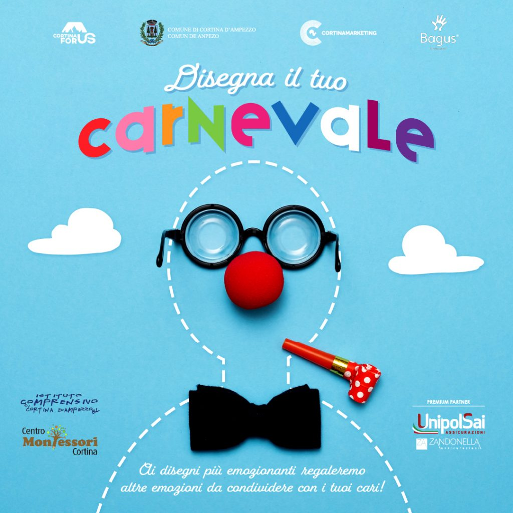 carnevale 2021 Cortina For Us