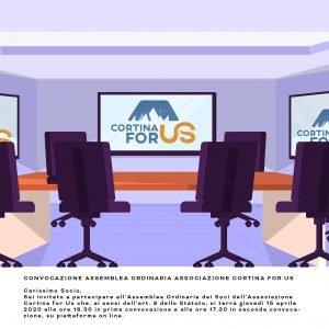 Assemblea Soci Cortina For Us 2021
