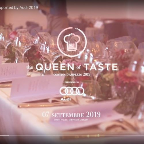 The queen of taste presented by audi