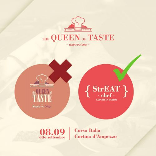 the qeen of taste cortina 2019